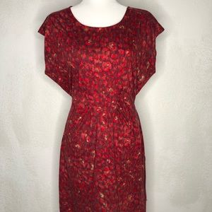 Attention Woman Red Dress L